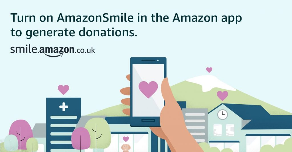 River Kids Childrens Charity New Website West Lothian AmazonSmile